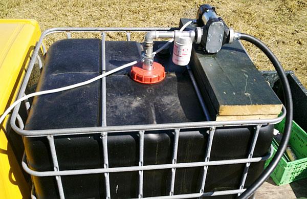12 Volt Mobile Diesel Tank Pumpe Diesel Umfüllpumpe Für John Deere